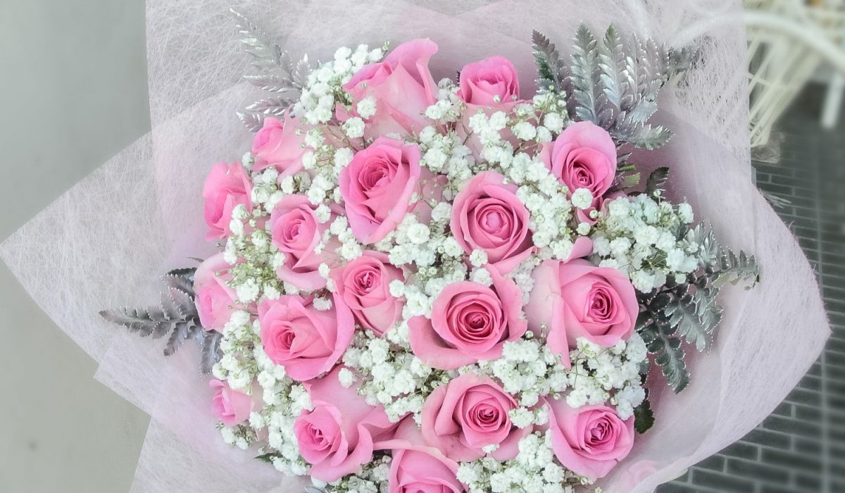 pink-roses-baby-breath-bali