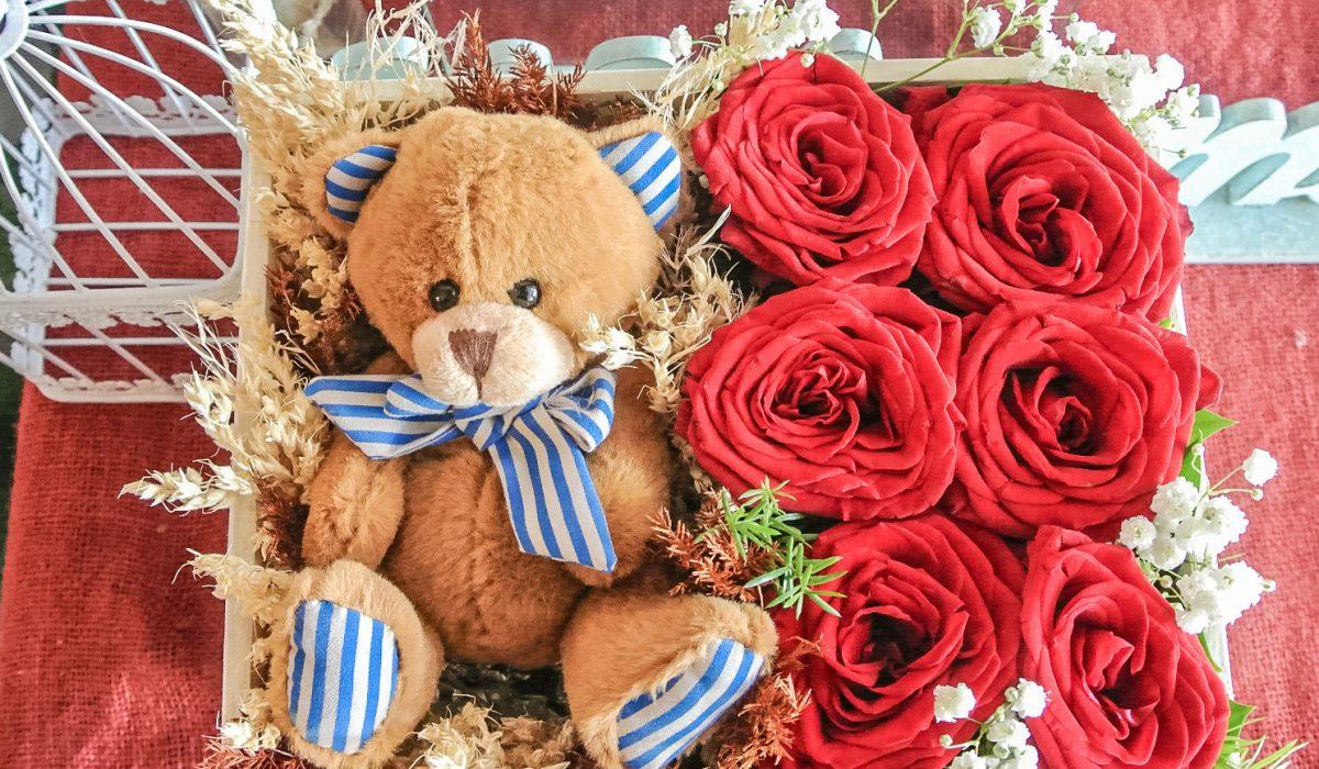 teddy-box-flower-bali